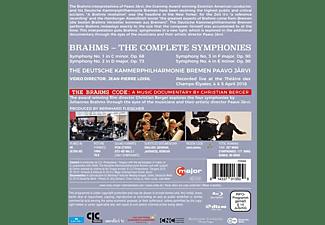 Järvi.Paavo/Deutsche Kammerphilharmonie Bremen - Brahms: Sämtliche Sinfonien [Blu-ray]  - (Blu-ray)