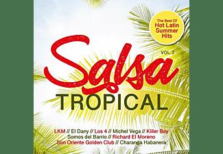 VARIOUS - Salsa Tropical Vol.2/Best Of Hot Latin Summer Hits  - (CD)
