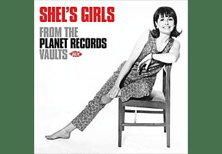 VARIOUS - SHEL'S GIRLS  - (CD)