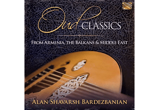 Alan Shavarsh/middle Eastern Ensemble Bardezbanian - OUD CLASSICS FROM ARMENIA, THE BALKANS & MIDDLE EA - (CD)