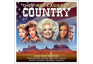 VARIOUS - FIRST LADIES OF COUNTRY - (CD)