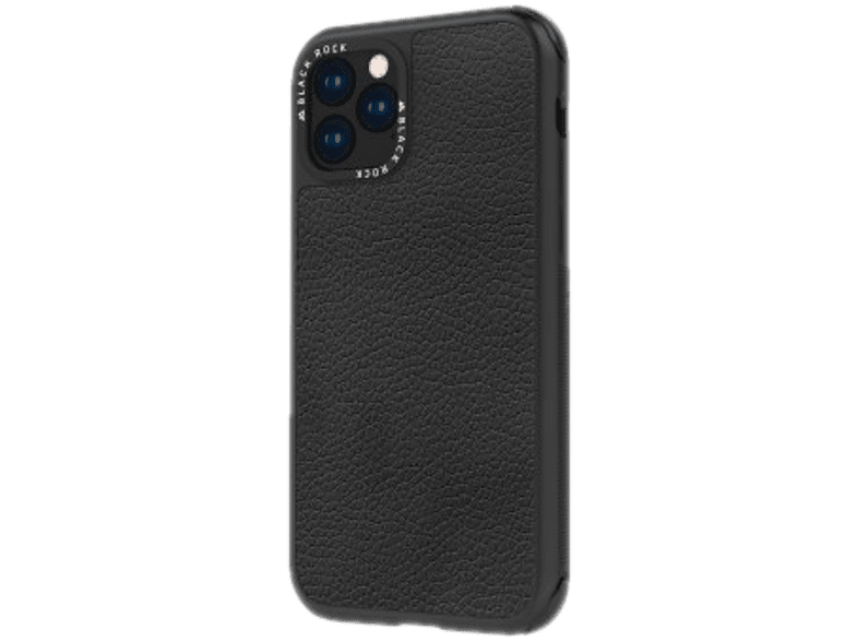 BLACK ROCK Cover Robust Real Leather iPhone 11 Zwart (187136)