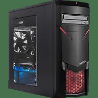 CAPTIVA R51-414, Gaming PC mit Ryzen 7 Prozessor, 16 GB RAM, 500 GB SSD, 1 TB HDD, Palit GTX1660 6GB, 6 GB
