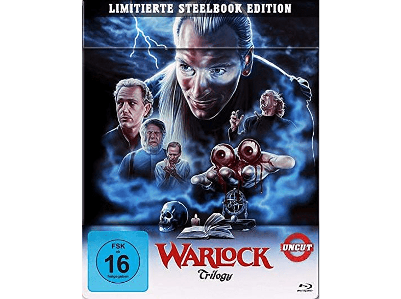 Warlock Trilogy (3 Blu-rays) (Steelbook) [Blu-ray]