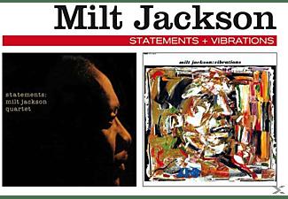 Milt Jackson - Statements+Vibrations  - (CD)