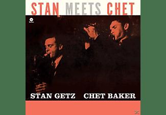 Getz, Stan / Baker, Chet - Stan Meets Chet (Ltd.Edt 180g  - (Vinyl)