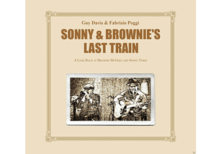 Guy Davis, Fabrizio Poggi - Sonny & Brownies Last Train  - (CD)