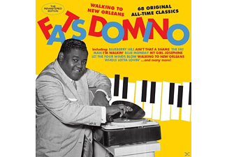 DOMINO FATS - WALKING TO NEW ORLEANS-68 ORIGINAL ALL-TIME  - (CD)