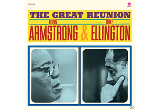 ARMSTRONG LOUIS, ELLINGTON DUKE - THE GREAT REUNION (LTD.180G VINYL)  - (Vinyl)