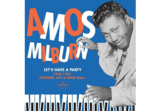 Amos Milburn - Let's Have A Party-1946-61 Aladdin,Ace & King S  - (CD)