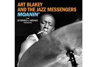 Art Blakey and the Jazz Messengers - Moanin'-The Stereo & Mono Versions+6 Bonus Trac - (CD)