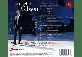 Lech Antonio Uszynski, Andriy Dragan - Progetto Gibson-A legendary Stradivari Viola  - (CD)