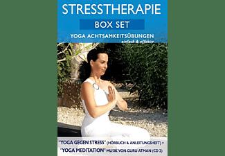 Canda - Stresstherapie Box Set: Yoga Achtsamkeitsübungen  - (CD)