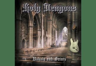 Holy Dragons - Unholy And Saints  - (CD)