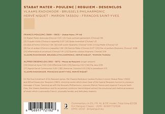 Vlaams Radiokoor & Brussels Philharmonie, Alfred Poulenc - Stabat Mater | Requiem  - (CD)
