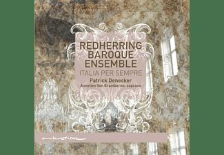 Redherring Baroque Ensemble - Italia per sempre  - (CD)