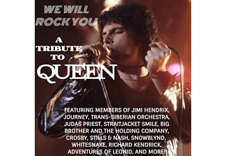 VARIOUS - WE WILL ROCK YOU; A TRIBUTE TO QUEEN  - (CD)