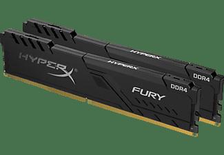 KINGSTON Arbeitsspeicher HyperX Fury schwarz DIMM Kit 32GB, DDR4-2666 (HX426C16FB3K2/32)