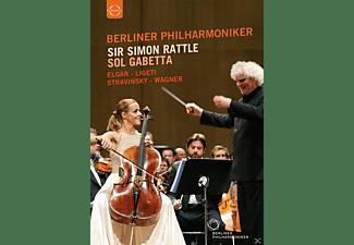 Sol Gabetta, Berliner Philharmoniker - Simon Rattle Und Sol Gabetta (Osterfestspiele)  - (DVD)