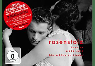 Rosenstolz - Lass es Liebe sein - die schönsten Lieder von Rosenstolz (Deluxe)  - (CD + DVD Video)