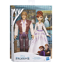 FROZEN Disney Die Eiskönigin 2 Anna und Kristoff Spielset, Mehrfarbig