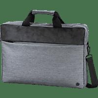 HAMA Tayrona Notebooktasche Umhängetasche für Universal Polyester, Polyurethan, Hellgrau