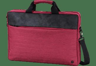 HAMA Tayrona Notebooktasche Umhängetasche für Universal Polyester, Polyurethan, Rot