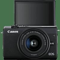 CANON EOS M200 mit Objektiv EF-M 15-45mm 3.5-6.3 IS STM, schwarz (3699C010)