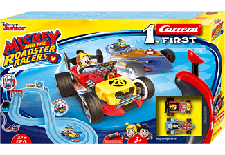 CARRERA (TOYS) First Mickey and the Roadster Racers Spielzeugauto, Mehrfarbig