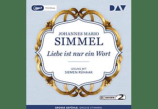Johannes Mario Simmel - LIEBE IST NUR EIN WORT  - (MP3-CD)