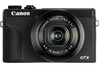 CANON PowerShot G7 X Mark III - Appareil photo compact (Résolution photo effective: 20.1 MP) Noir