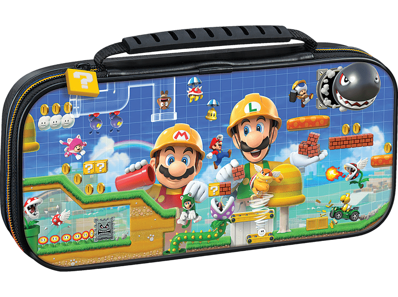 BIGBEN Officiële Super Mario Maker Deluxe Travel Case voor Switch (NNS50C)