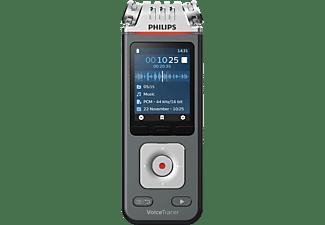 PHILIPS DVT 6110 Diktiergerät, Anthrazit/Chrom