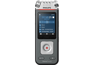 PHILIPS VoiceTracer DVT6110 Audiorecorder, grau