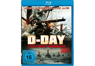 D-DAY-Stoßtrupp Normandie (uncut) Blu-ray