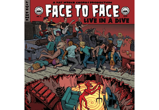 Face To Face - LIVE IN A DIVE  - (CD)