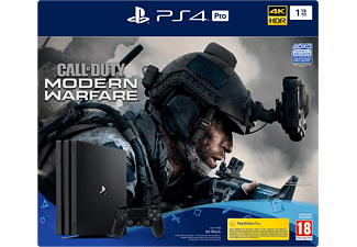 SONY Playstation 4 Pro 1TB + Call of Duty: Modern Warfare
