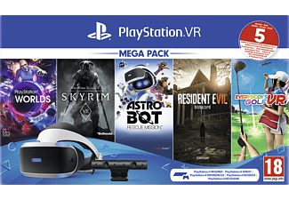 SONY Playstation VR Megapack II + 5 Games