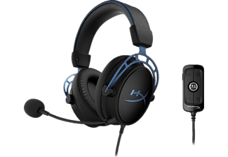 HYPERX Cloud Alpha S, Over-ear Gaming Headset Schwarz/Blau