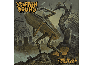 Violation Wound - DYING TO LIVE, LIVING..  - (CD)