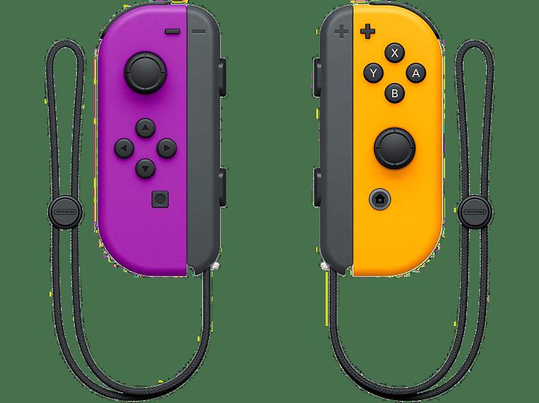 NINTENDO Switch Joy-Con-controllerset Paars / Oranje