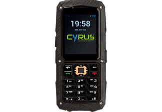 CYRUS CM 8 SOLID - Outdoor Handy (Schwarz)