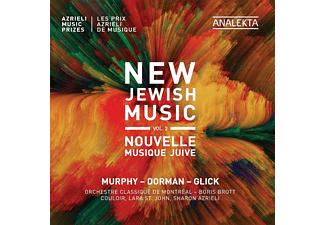 Orchestre Classique De Montreal, Couloir, Lara St. John, Sharon Azrieli - New Jewish Music,Vol.2  - (CD)