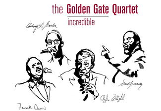 The Golden Gate Quartet - INCREDIBLE  - (CD)