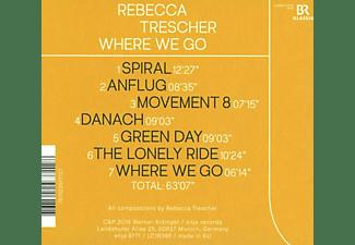 Rebecca Trescher - Where We Go  - (CD)