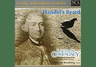 Lautten Compagney, Kobie Van Rensburg - G.F.Händel: Handel's Beard - Arien für Tenor  - (CD)