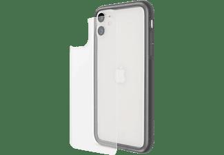 ARTWIZZ 3357-2884 Bumper + SecondBack, Bumper, Apple, iPhone 11, Schwarz