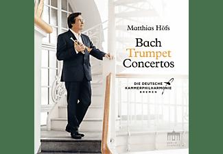 Matthias/deutsche Kammerphilharmonie Bremen Höfs - Bach Trumpet Concertos  - (CD)