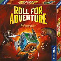 KOSMOS 2600654 Roll for Adventure Würfelspiel, Mehrfarbig