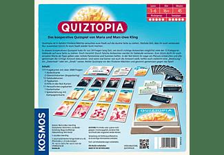 KOSMOS 694296 Quiztopia Kartenspiel Mehrfarbig